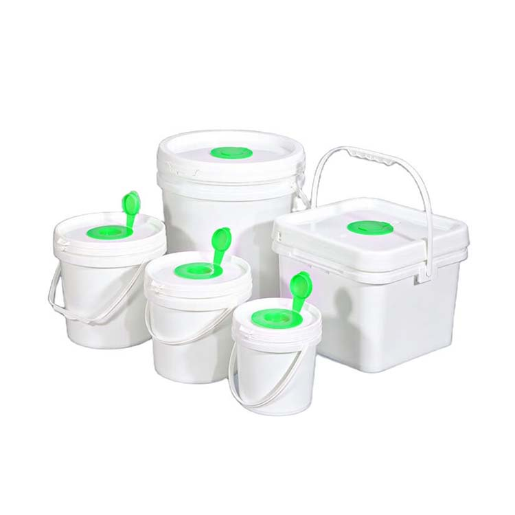 Plastic Gym Wet Wipe Plastic Buckets Manufacturer Wholesale With Lids For SaleHot sale products