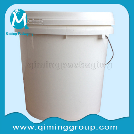 Round Plastic Buckets Pails-Qiming Packaging