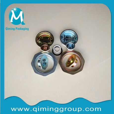 chromium 6 chorm 3 plated drum closures qiming china