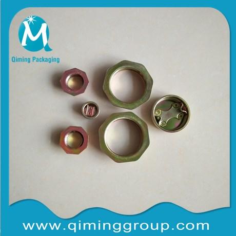 color zinc plated drum flanges steel drum flanges qiming