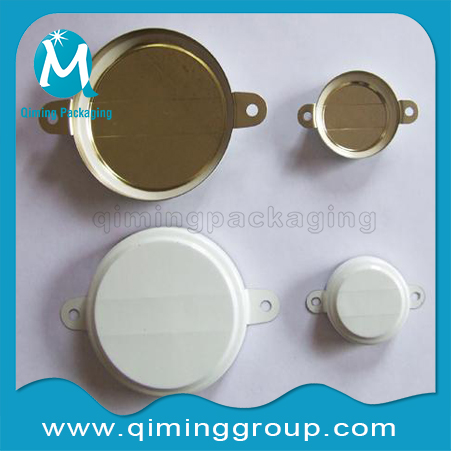 white metal cap seals for 55 gallon drums--Qiming Packaging