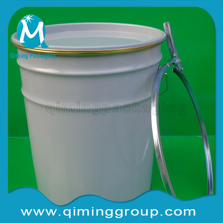 Ink Buckets Pails With Lock Ring -Qiming Packaging