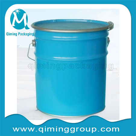 Ink Buckets Pails With Lock Ring Tin Buckets Pails