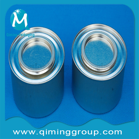 Round Tin Cans Small Tinplate Pails Tinplate Cans --Qiming Packaging