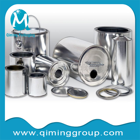 Round Tin Cans Metal Buckets Pails Round Tinplate Cans
