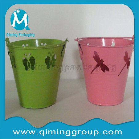 Water Buckets Ice Buckets Pails With Speical Dragonfly Butterfly Design