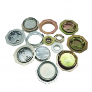 2 INCH AND 3/4 INCH LOW PRICE GALVANIZED DRUM CLOSURES