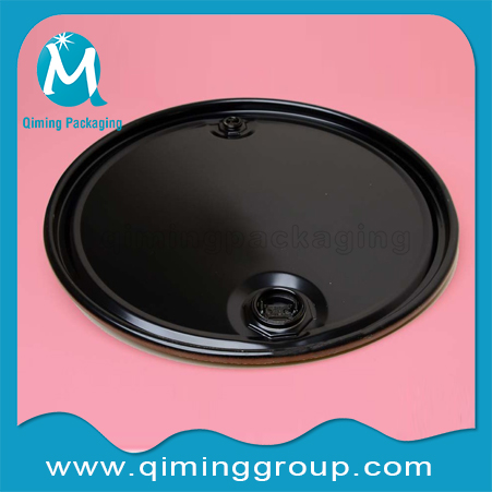 200L 55 Gallon Steel Drum Covers With Fittings
