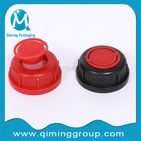 Black Plastic Spouts Closures For Metal & Plastic Lids -Qiming Packaging