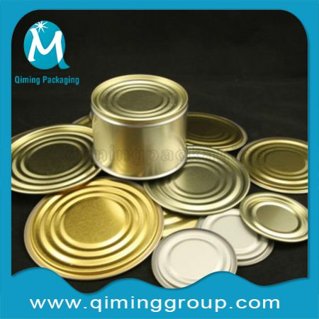 Round Bottom Lids Covers For Metal Containers-Qiming Packaging