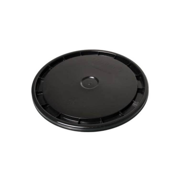 Round black Plastic Bucket