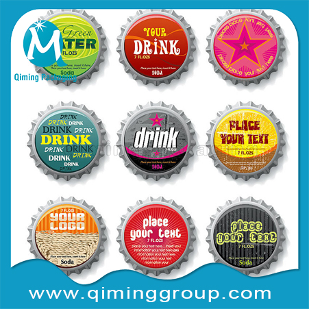 beer crown caps with LOGO qiming packaging (3)