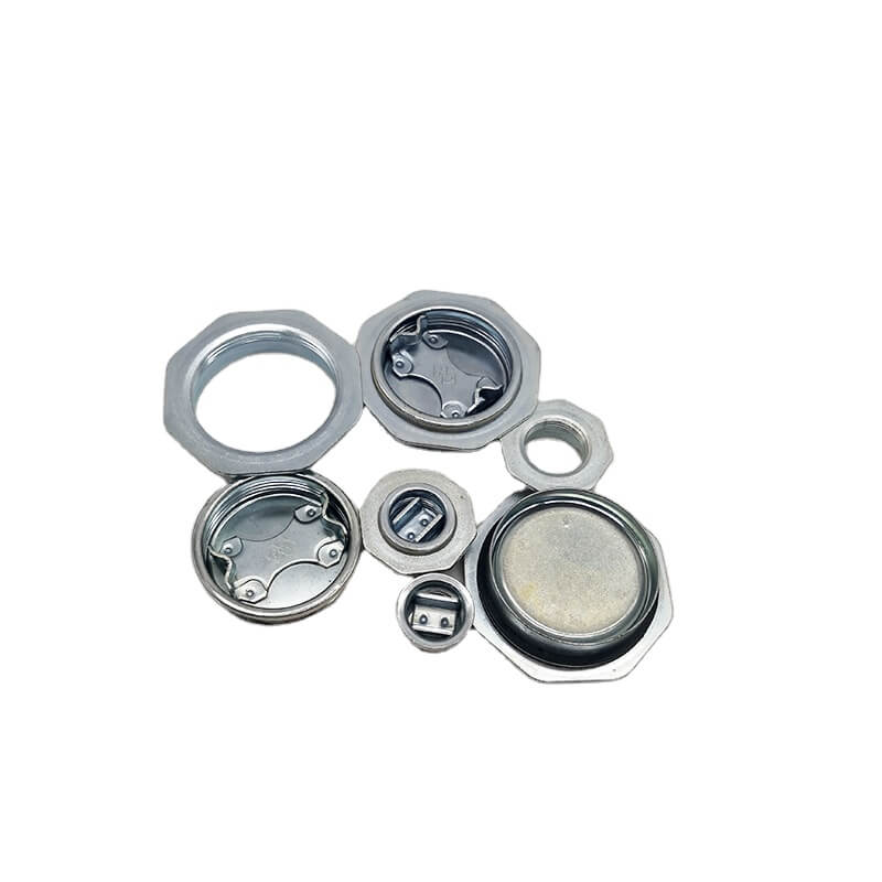 2 inch and 3/4 inch Cr3 Zinc Plated Drum Closures