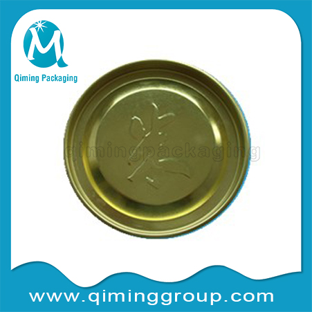 embosses penny lever lids top lids bottom lids Qiming Packaging
