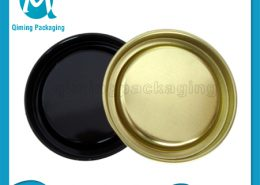 Penny Lever Lids Tinplate Composite Lids Qiming Packaging