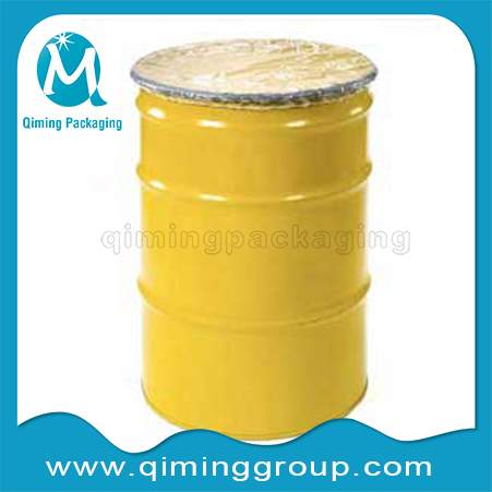 plastic transparent clear drum covers with ealstic locking