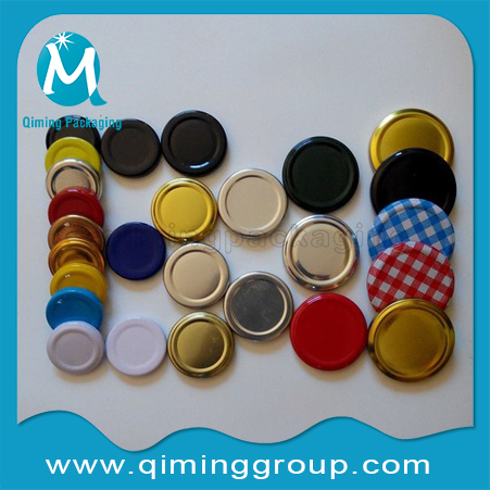 twist off metal lids container lids of fruit, sardine, peanut, meat sauce