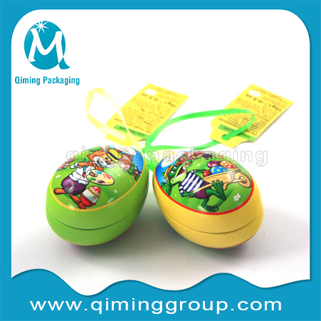 Easter Eggs Christmas Gift Tin Boxes -Qiming Packaging