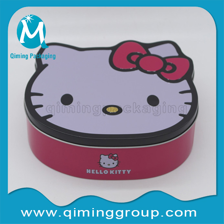 Hello-kitty Christmas Gift Tin Boxes -Qiming Packaging