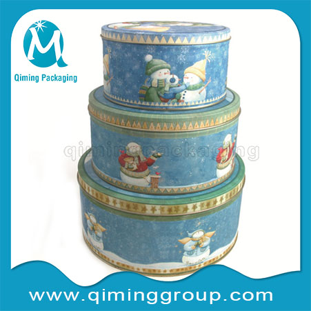 Christmas Gift Tin Boxes -Qiming Packaging