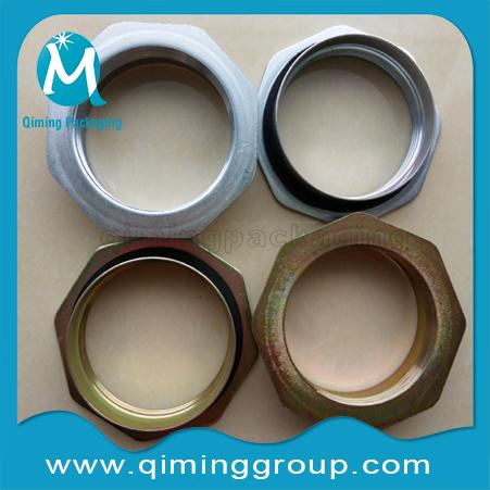 2 inch steel drum flanges,drum caps -drum closures-Qiming Packaging