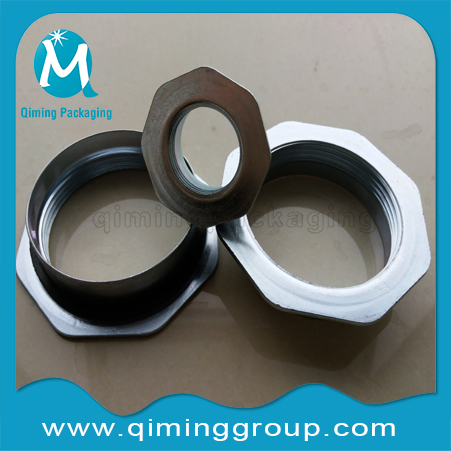 2 inch and 3/4 inch steel drum flanges,drum caps -Cr3 Zinc Plated Drum Closures-Qiming Packaging