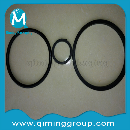 black BUNA gaskets for drum caps,drum bungs,drum flanges-Qiming Packaging