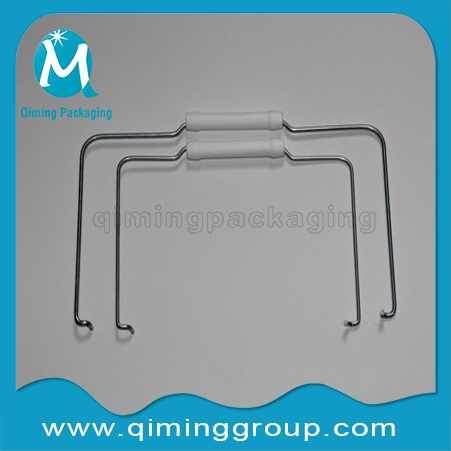 metal handles with plastic sleeves-qiing packaging