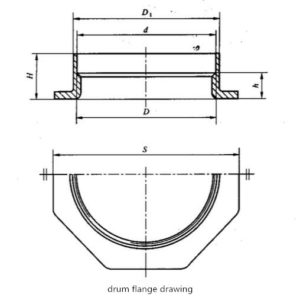 QIMING DRUM FLANGE DRAWING