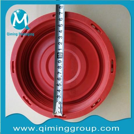6 inch IBC lids polyethylene fill cap plain