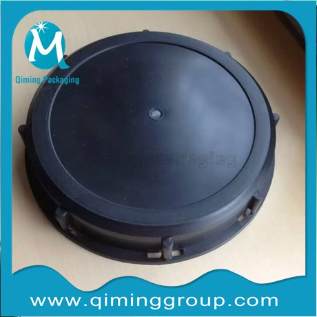 6 inch Lids for Spray Tanks black