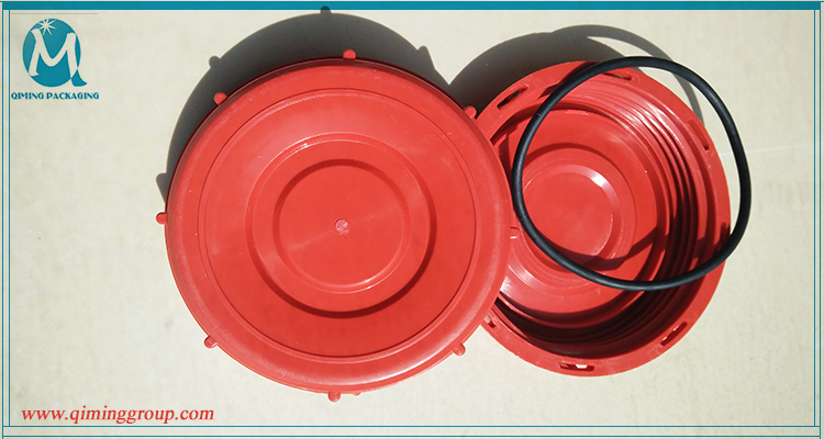 IBC container lid red SPRAY TANK LIDS