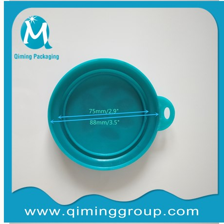 pet plastic cover Pet Food Can Lids for dog food can cat food can