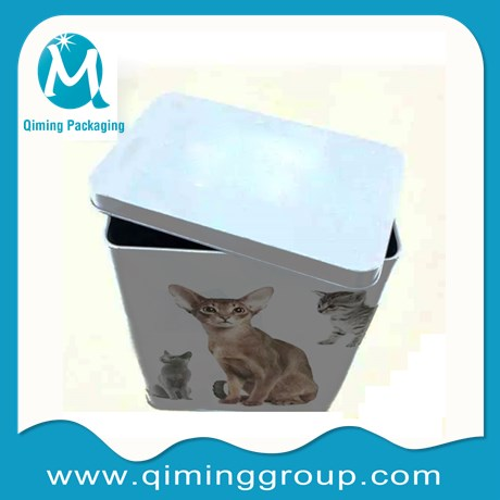 cat food square tin cans junior cat food cans