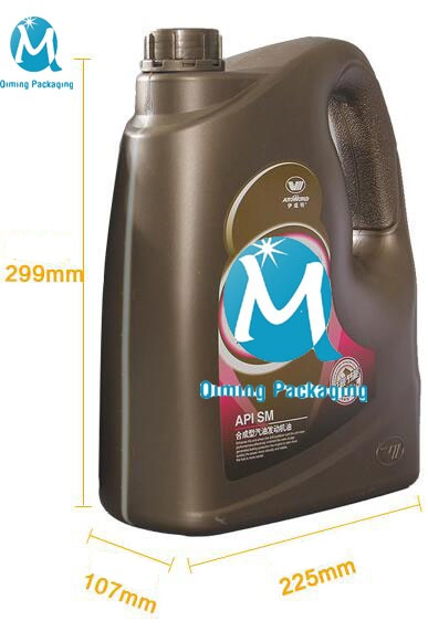 lubricating oil plastic cans pails 4L
