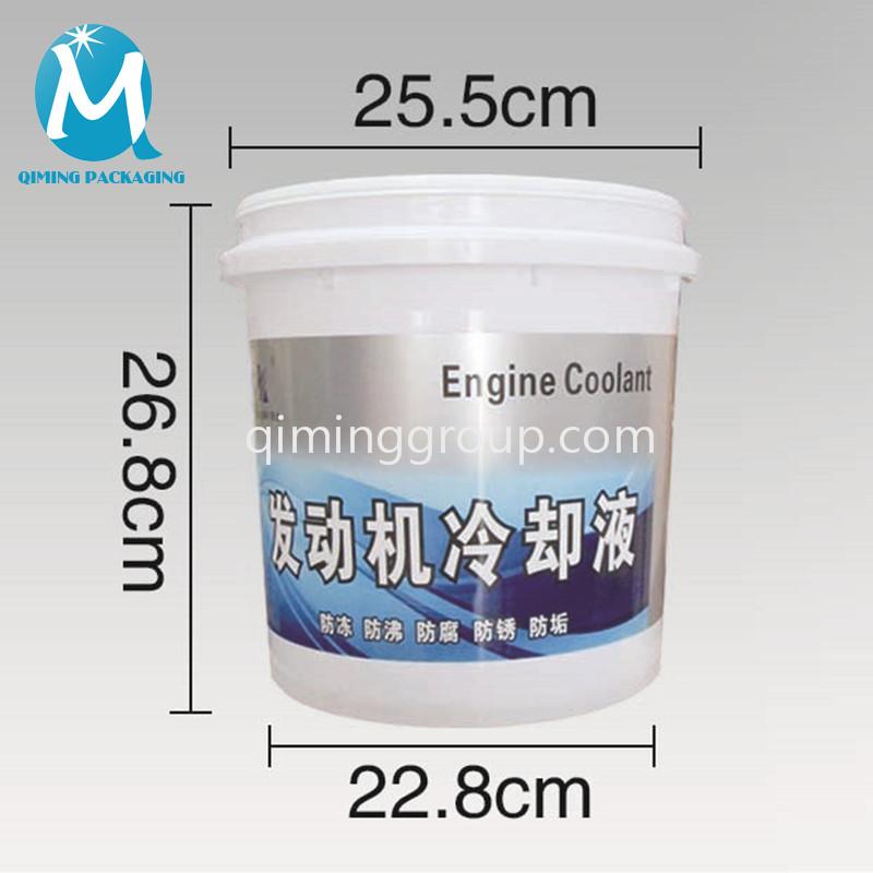 10L plastic round bucket pail