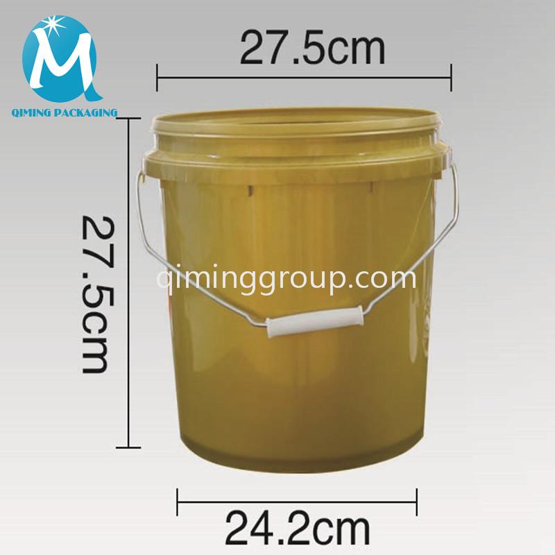 12 L plastic round bucket