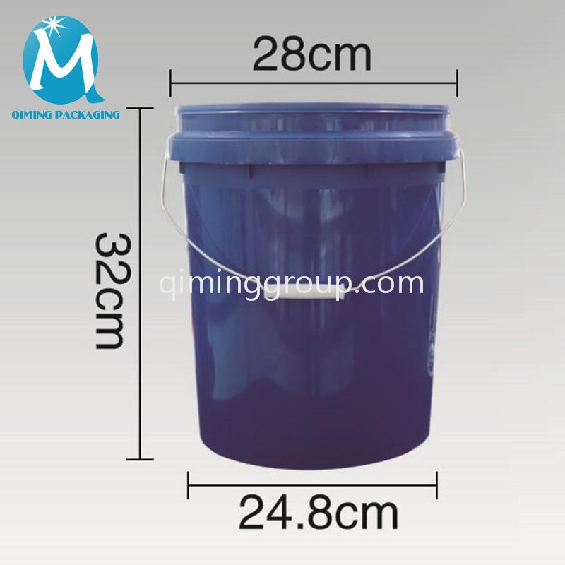 15L plastic round bucket pail