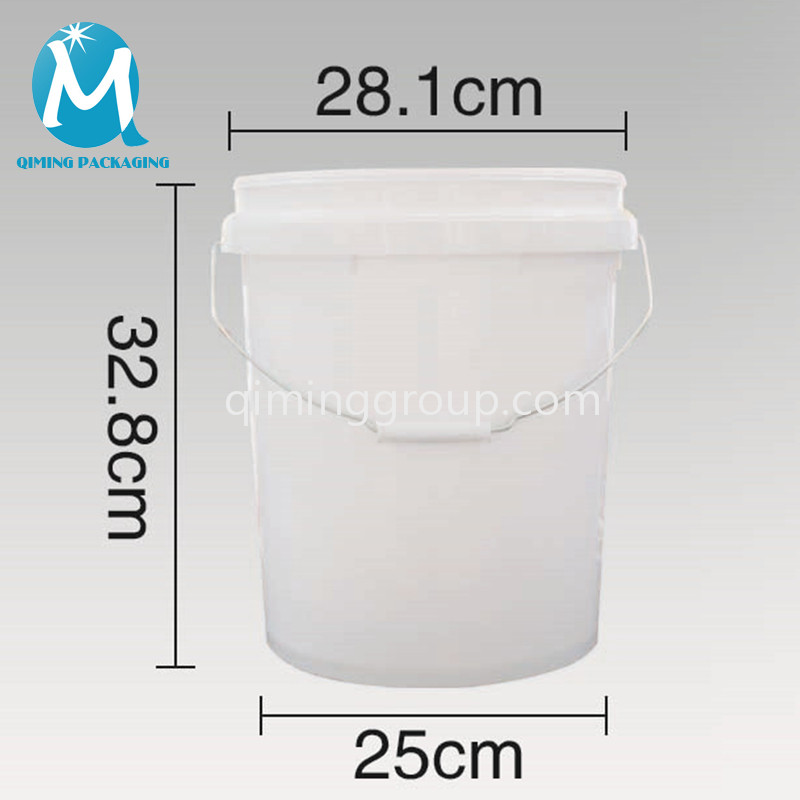 16L plastic round bucket