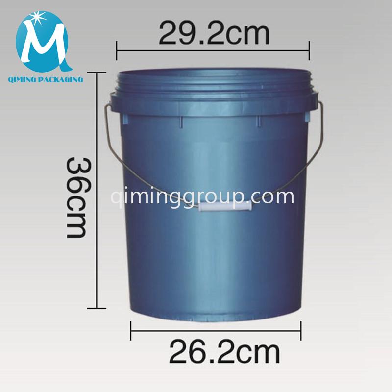 18L plastic round bucket
