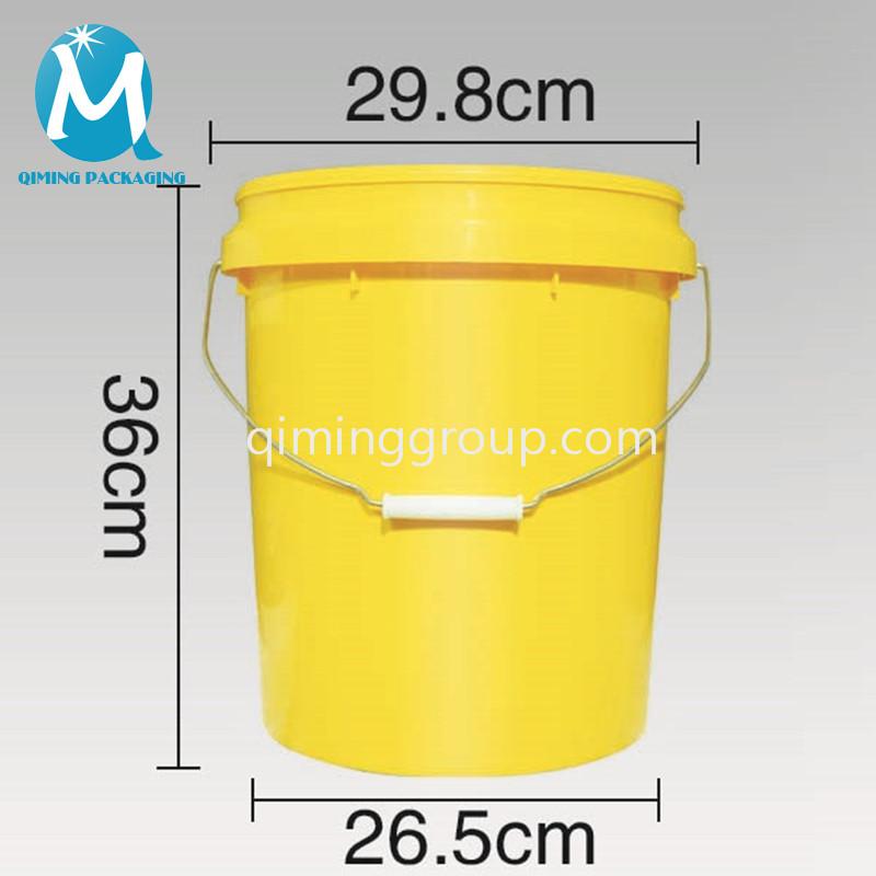 20L plastic round buckets