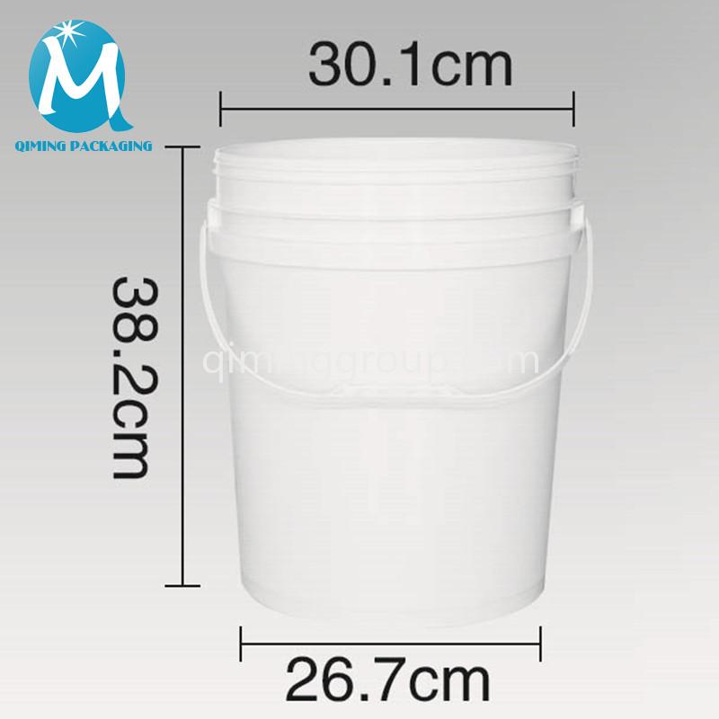 20L plastic round bucket