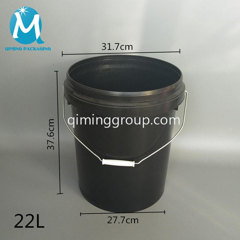 22L round bucket pail