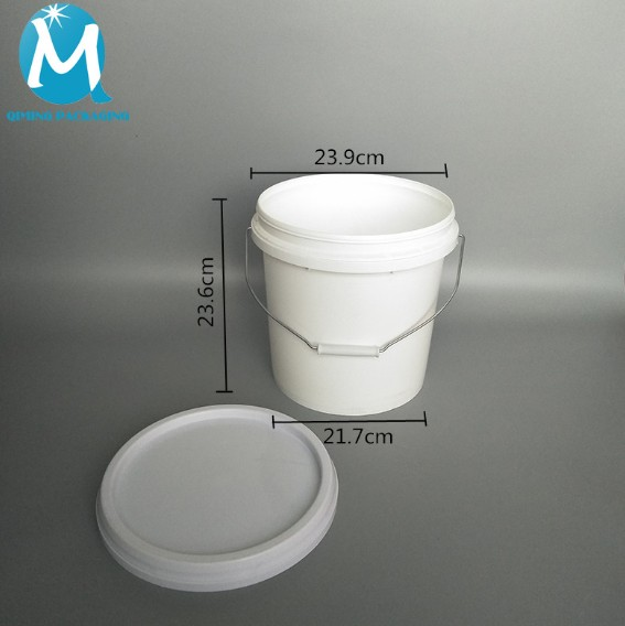 9 L PLASTIC ROUND BUCKETS