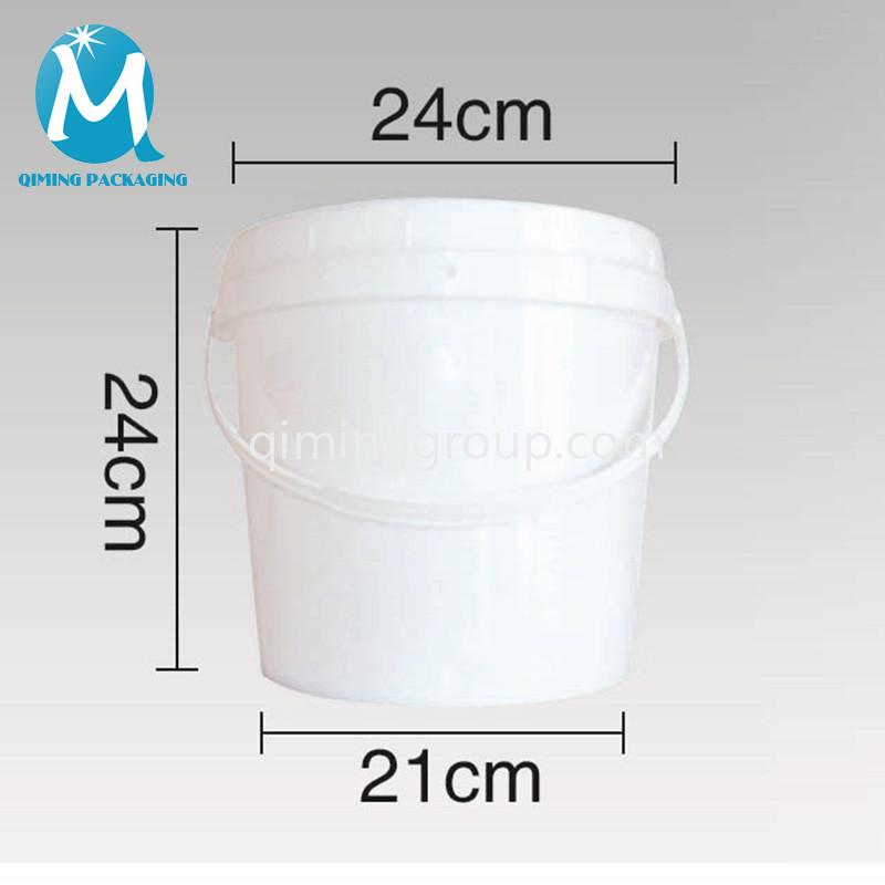 9L plastic round bucket pail