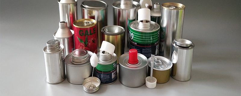 Round Tin Cans Tinplate Pails
