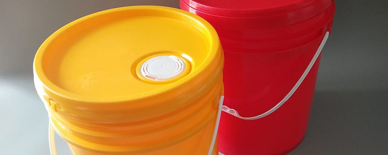 1-25L Plastic cylindrical bucket