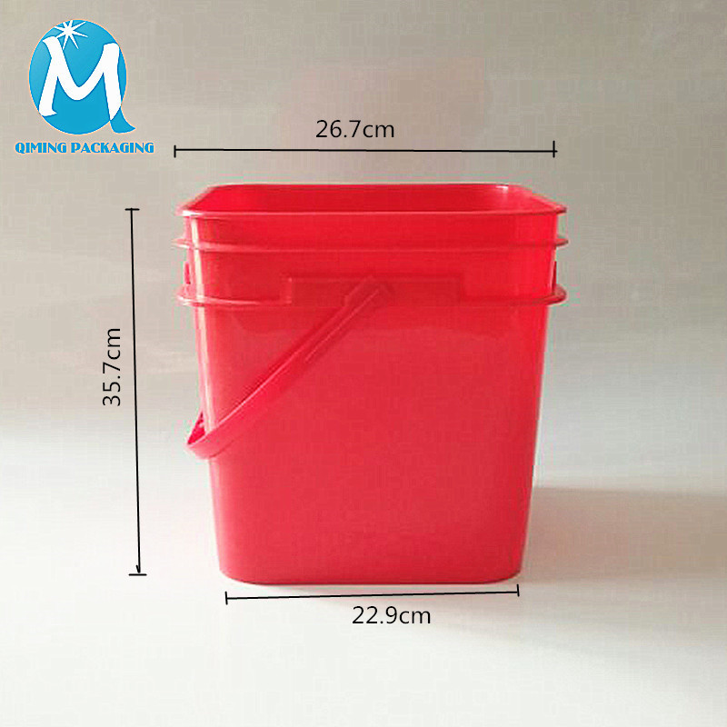 20L square plastic bucket