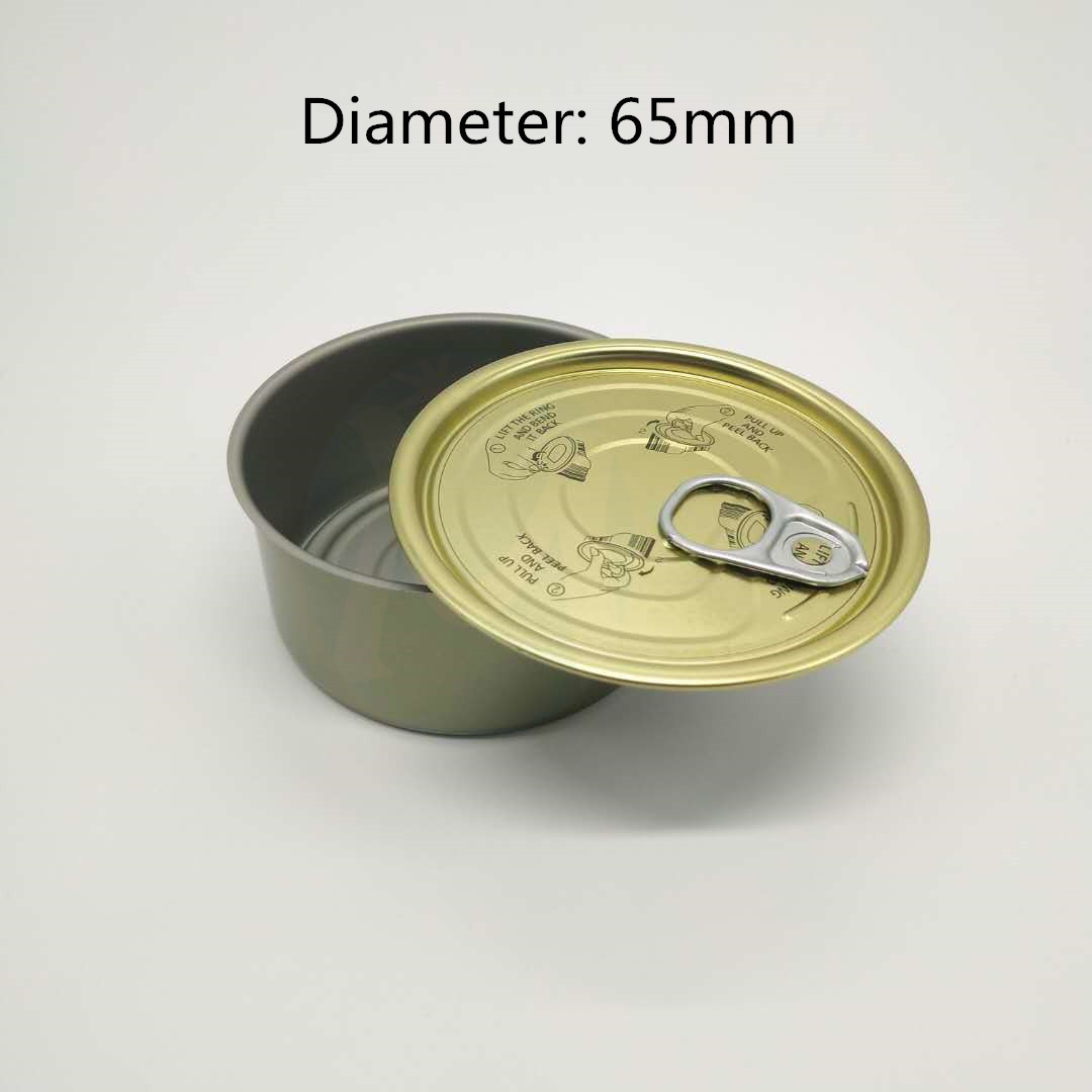 65mm pet food lids