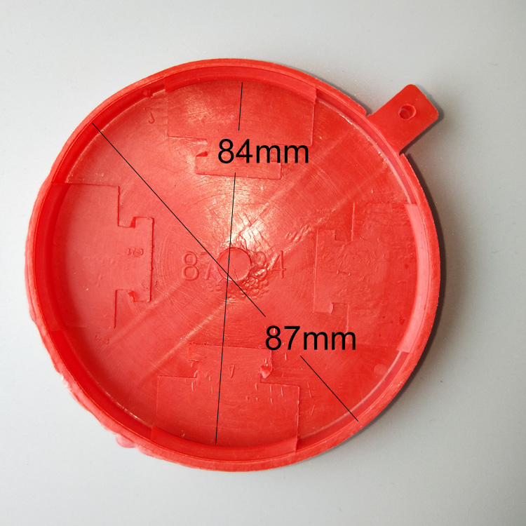 red plastic drum cap seals